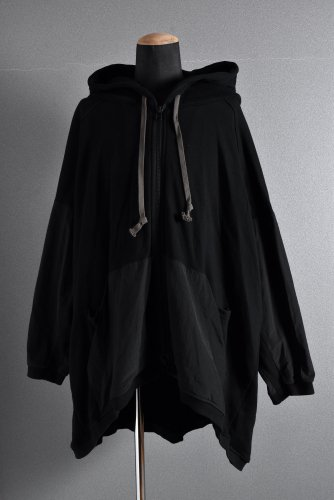 <img class='new_mark_img1' src='https://img.shop-pro.jp/img/new/icons1.gif' style='border:none;display:inline;margin:0px;padding:0px;width:auto;' />希少 A.F ARTEFACT BIg Silhouette Hoodie Bomber Parka 4 BLACK