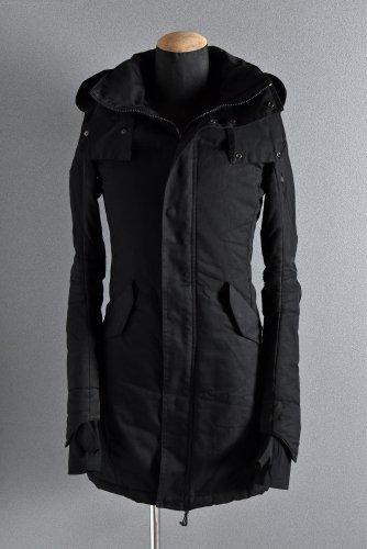 N/07 Supima Cotton 60/2 High Density 3D Mods Coat M-51 44 BLACK エヌゼロナナ