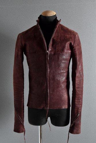 国内未入荷 19AW m.a+ GUIDI Camel Reverse Leather Biker Jacket 48(S) Bordeaux エムエークロス