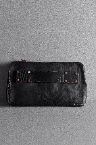 新品 19AW ierib onepiece clutch-bag / waxy JP culatta BLACK