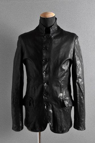 新品 18AW ISAMUKATAYMA BACKLASH イタリアンショルダー 製品染 ジャケット M BLACK