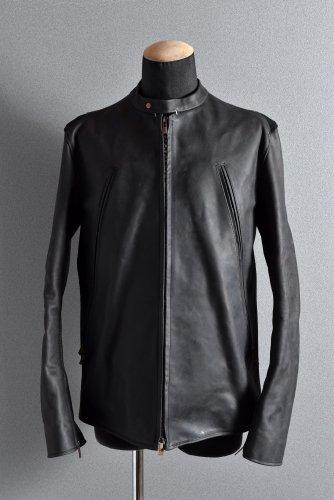 新品 21SS ierib LOOM別注 single biker jacket / Nicolas Italy Vachetta 50 BLACK