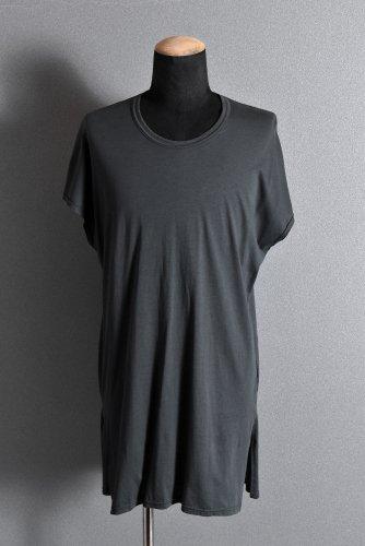 美品 20SS N/07 KIMONO-SLEEVE T-SHIRT / DERABE CLAIR FINE (DARK GREY) 2 エヌゼロナナ
