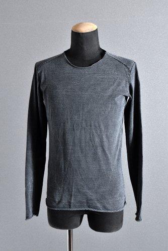 美品 17AW wjk hard jersey object dyed L/S カットソー M BLUE GRAY