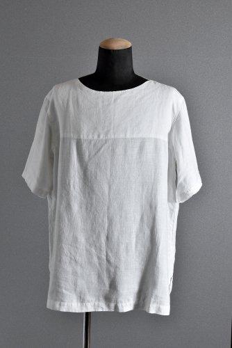 美品 19SS sus-sous pullover sleeping shirt 7 plain (NATURAL) シュスー