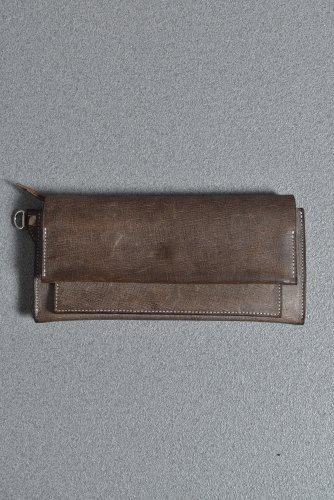 希少 Portaille Leather Wallet (BABELE by TEMPESTI / PIOMBO)  ポルタユ