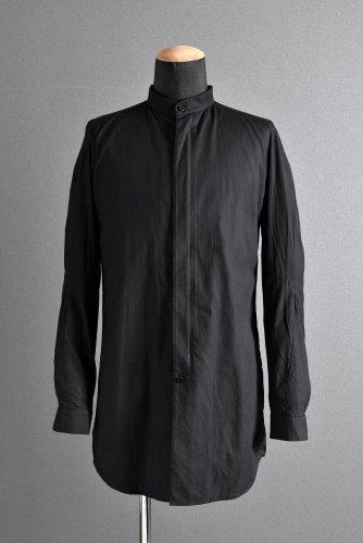 美品 18SS DEVOA マハラニ コットン L/S ロングシャツ 2  BLACK
