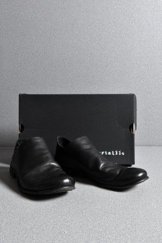 19AW LOOM別注 Portaille Babouche Slipon Shoes (JP- Vachetta) 42 黒 ポルタユ