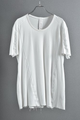 A.F artefact テープシーム カットソー 2 WHITE