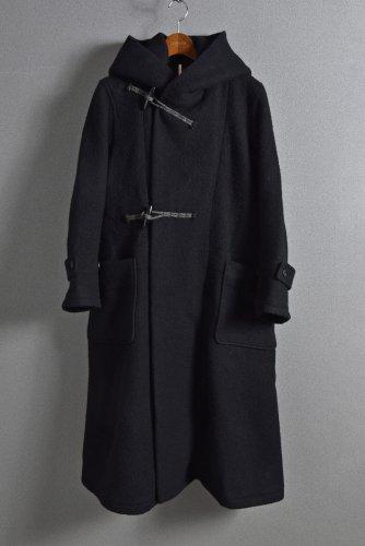 新品 20AW sus-sous duffle coat / Napping melton wool (NAVY BLACK) size 5 シュスー