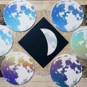 月光箋 月華(月の色:虹色箔)