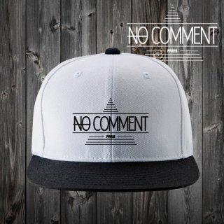 NOCOMMENT ロゴ刺繍/CAP