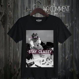 T-SHIRT M-CREW JP stay classy