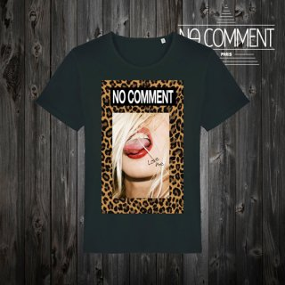T-SHIRT M-CREW JP leopard tongue