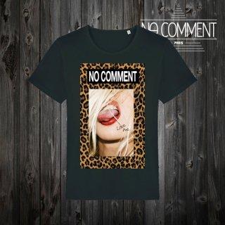 T-SHIRT M-CREW JP leopard tongue