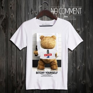 T-SHIRT M-CREW JP teddy & coke