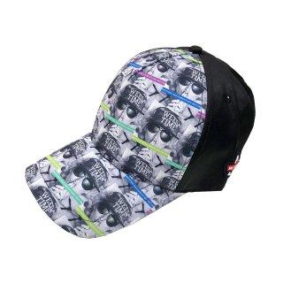 NOCOMMENT 総柄CAP