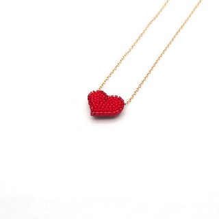 Tiny Heart ネックレス -3colors-