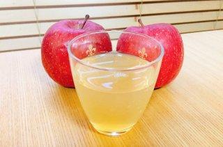 農家の無添加ストレートりんごジュース 1L×3本入