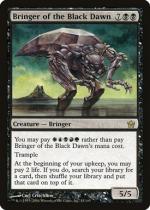 黒の夜明けの運び手/Bringer of the Black Dawn(5DN)【英語】