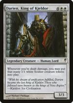キイェルドーの王、ダリアン/Darien, King of Kjeldor(CSP)【英語】