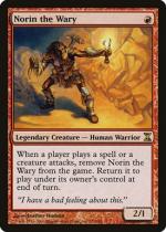 二の足踏みのノリン/Norin the Wary(TSP)【英語】