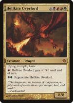 ヘルカイトの首領/Hellkite Overlord(ALA)【英語】