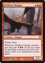 ヘルカイトの突撃者/Hellkite Charger(ZEN)【英語】