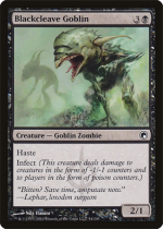 黒割れのゴブリン/Blackcleave Goblin(SOM)【英語】