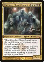 幽霊議員オブゼダート/Obzedat, Ghost Council(GTC)【英語】