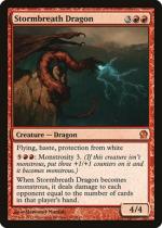 嵐の息吹のドラゴン/Stormbreath Dragon(THS)【英語】