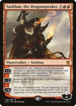 龍語りのサルカン/Sarkhan, the Dragonspeaker(KTK)【英語】