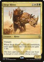包囲サイ/Siege Rhino(KTK)【英語】