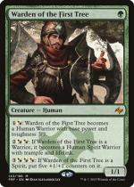 始まりの木の管理人/Warden of the First Tree(FRF)【英語】