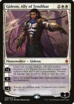 ゼンディカーの同盟者、ギデオン/Gideon, Ally of Zendikar(BFZ)【英語】