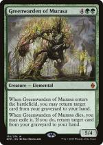 ムラーサの緑守り/Greenwarden of Murasa(BFZ)【英語】