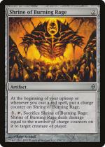 燃え上がる憤怒の祭殿/Shrine of Burning Rage(NPH)【英語】
