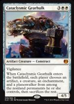 激変の機械巨人/Cataclysmic Gearhulk(KLD)【英語】