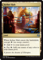 霊気拠点/Aether Hub(KLD)【英語】