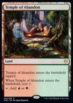 奔放の神殿/Temple of Abandon(THB)【英語】