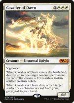 暁の騎兵/Cavalier of Dawn(M20)【英語】