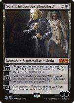 傲慢な血王、ソリン/Sorin, Imperious Bloodlord(M20)【英語】