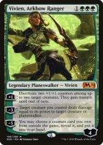 アーク弓のレインジャー、ビビアン/Vivien, Arkbow Ranger(M20)【英語】