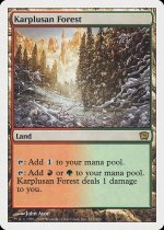カープルーザンの森/Karplusan Forest(9ED)【英語】