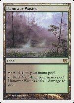 ラノワールの荒原/Llanowar Wastes(9ED)【英語】