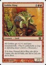 ゴブリンの王/Goblin King(8ED)【日本語】