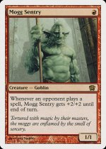 モグの歩哨/Mogg Sentry(8ED)【日本語】