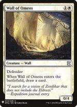 前兆の壁/Wall of Omens(MB1)【英語】