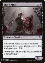 血の芸術家/Blood Artist(MB1)【英語】