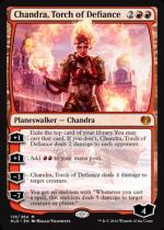反逆の先導者、チャンドラ/Chandra, Torch of Defiance(KLD)【英語】